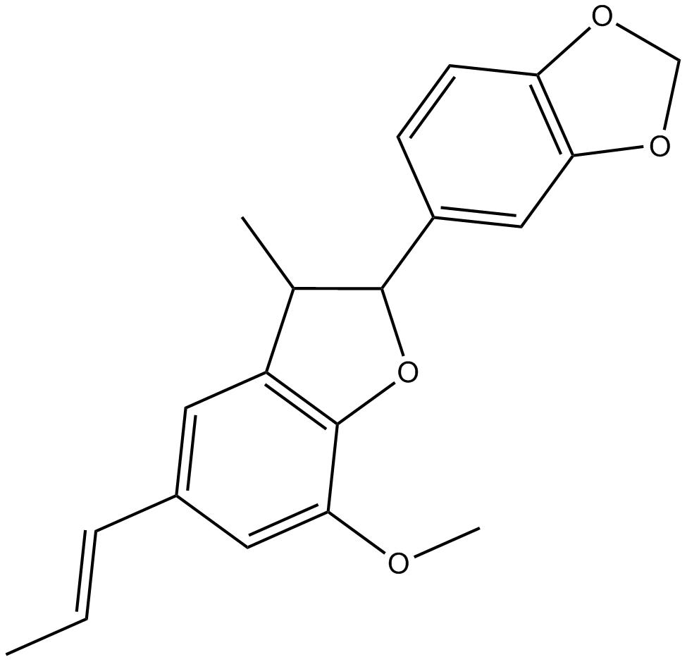 (-)-Licarin B