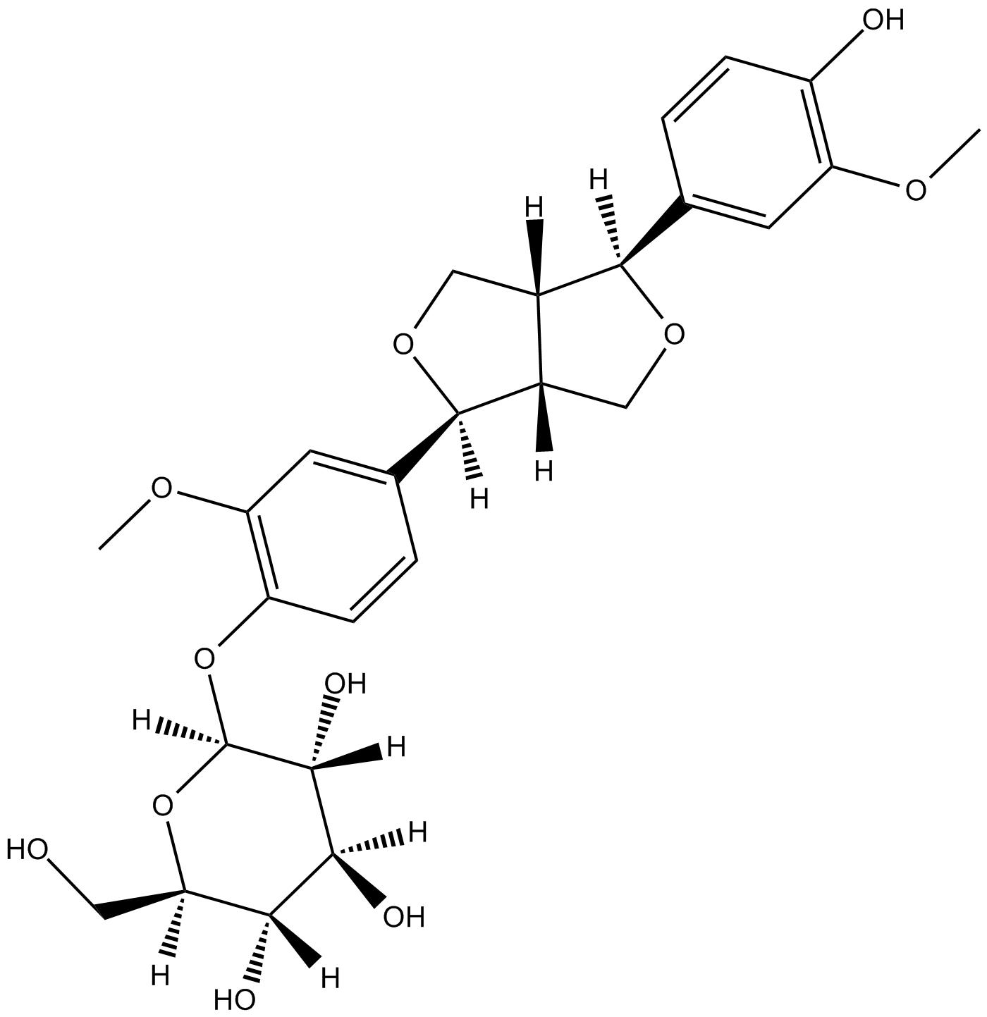 (+)-Piresil-4-O-beta-D-glucopyraside