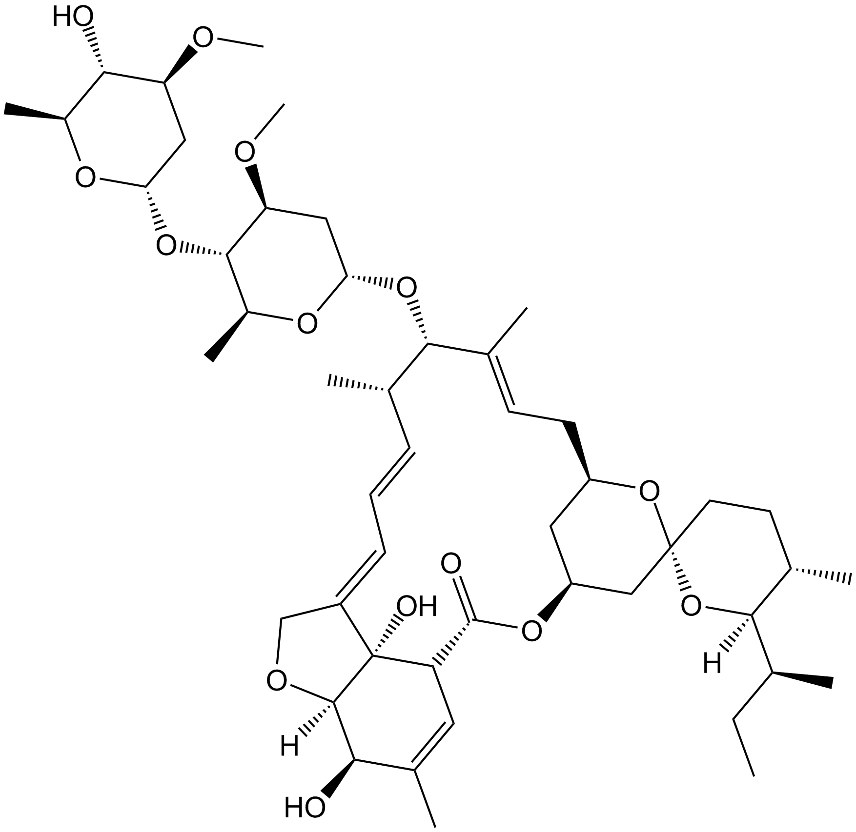 Ivermectin Chemical Properties