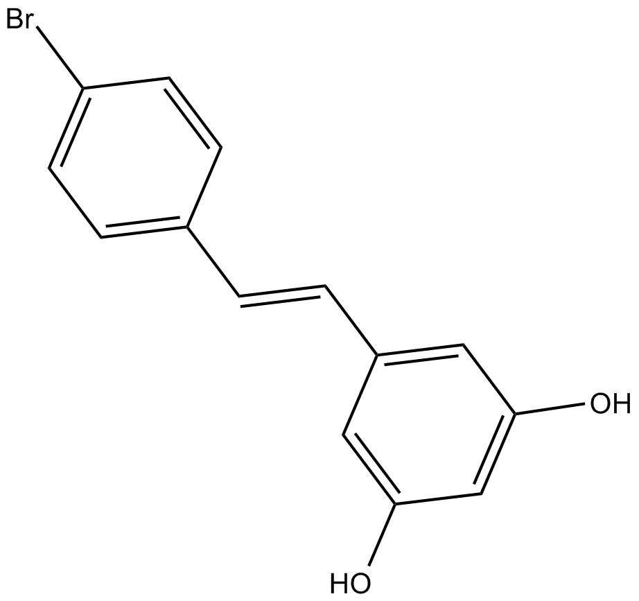 Apexbio 4 Bromo Resveratrol Sirt1 And Sirt3 Inhibitor Cas