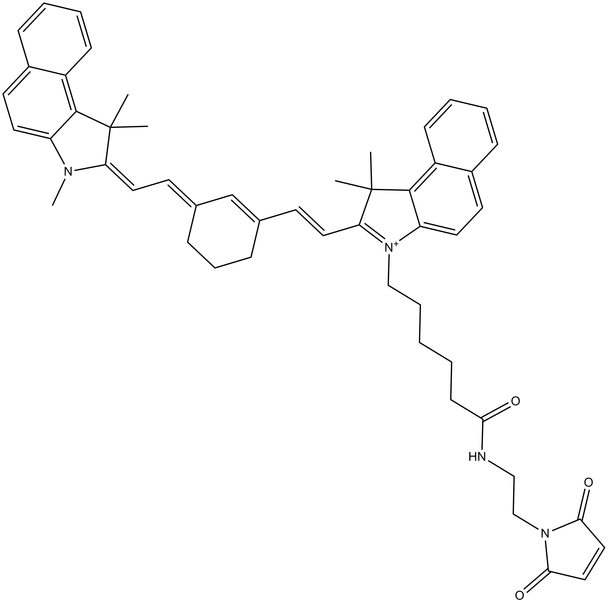 Cy7.5 maleimide(non-sulfonated)