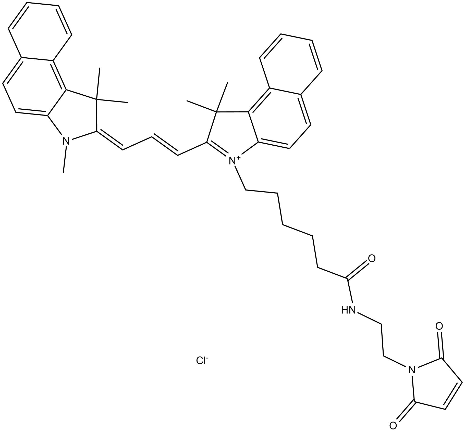 Cy3.5 maleimide (non-sulfonated)