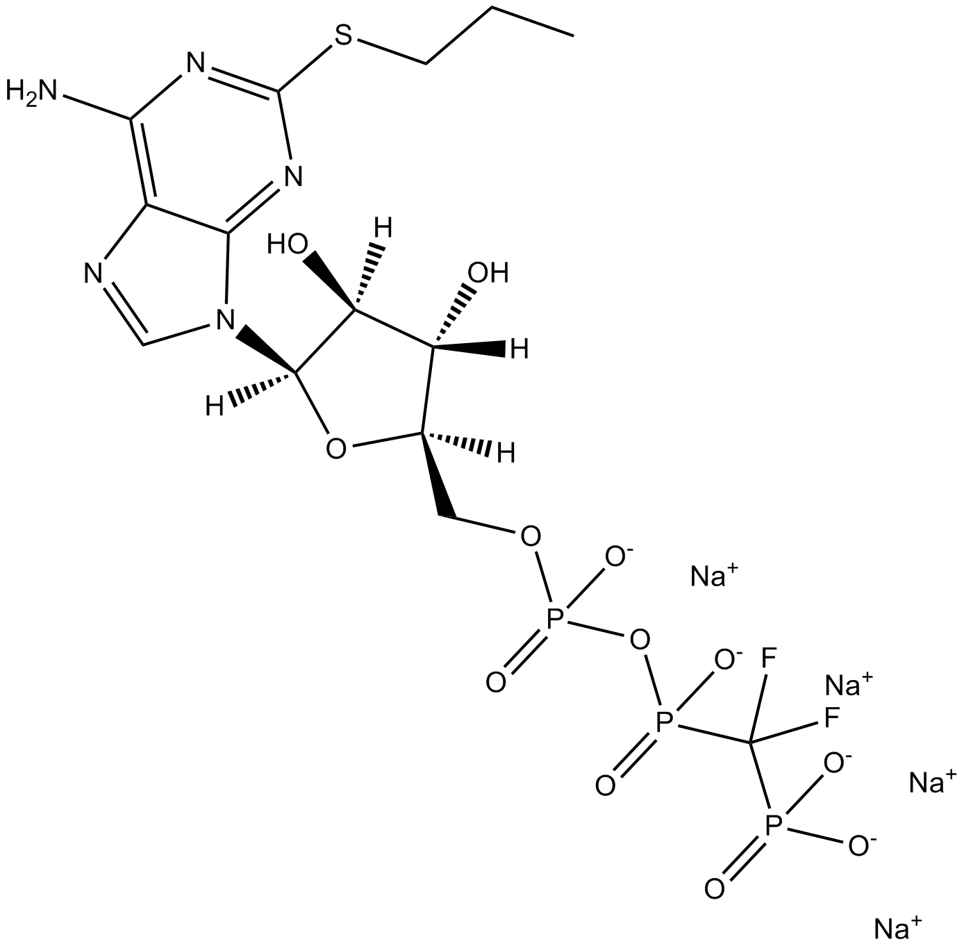 AR-C 66096 tetrasodium salt