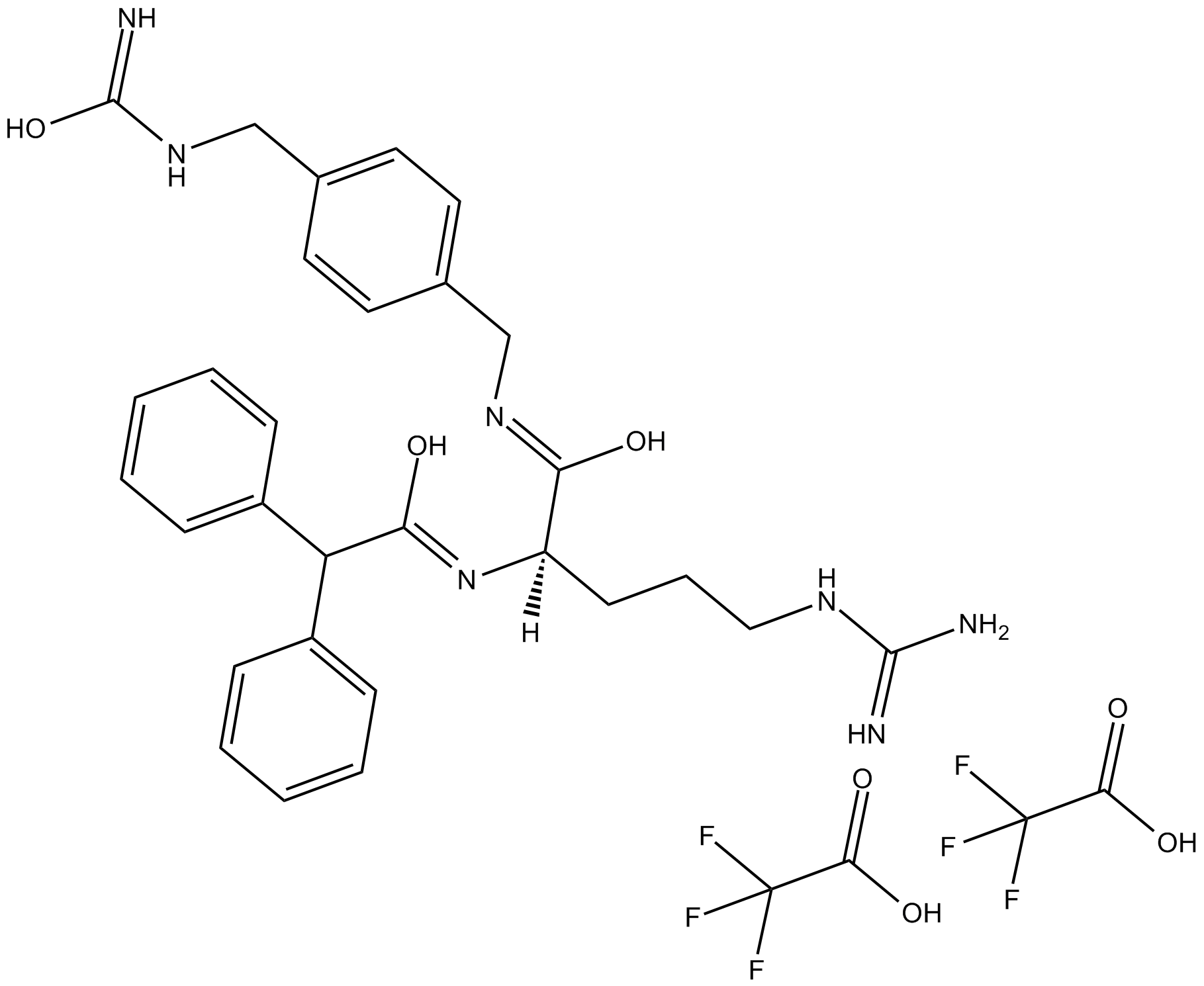 BIBO 3304 trifluoroacetate